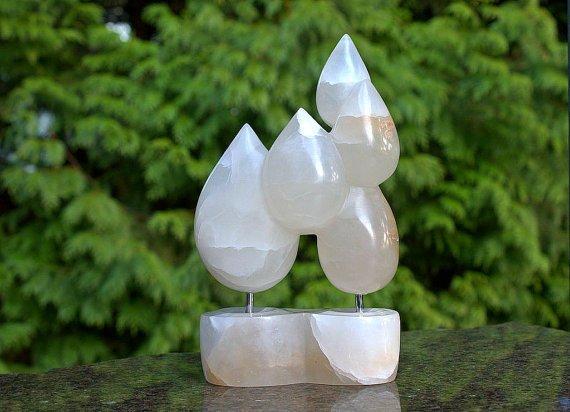 Raindrops modern 3D art