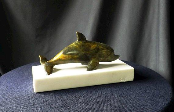 Soapstone Dolphin