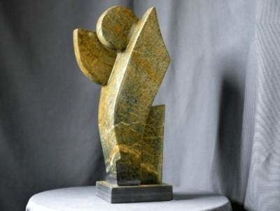 Soapstone motion sculpture