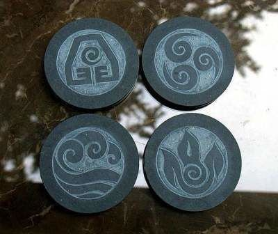 Four Element symbols design