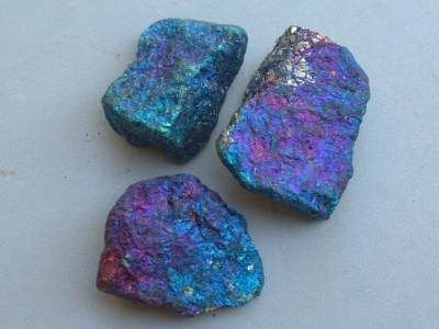 Peacock ore natural stone