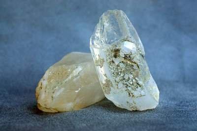 Clear quartz, crystal specimen