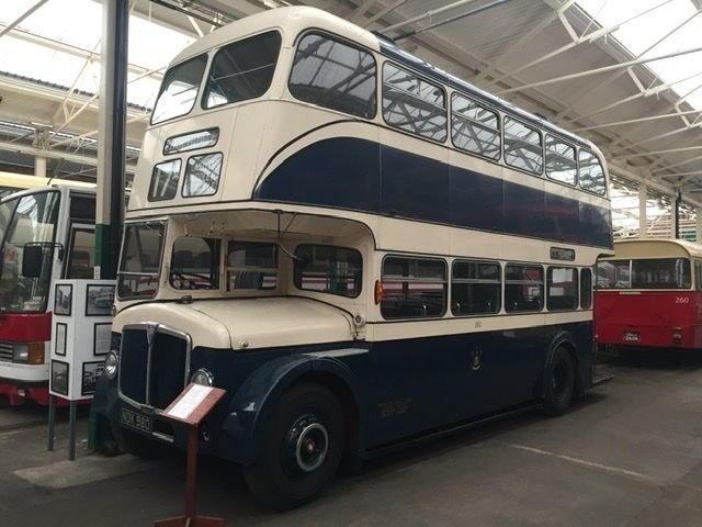 Privately owned bus collection.