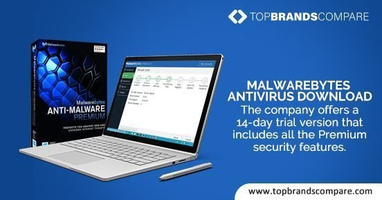 Malwarebytes is the best antivirus software for windows 10 - Top Brands Compare