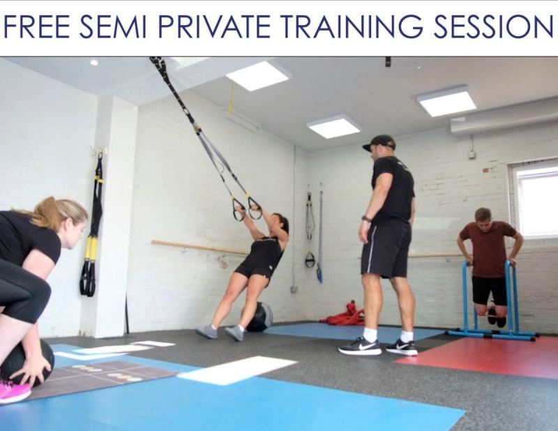 Semi Private Training Offer