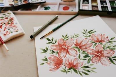2. Decorative paint