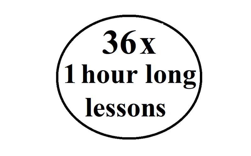 36 Hours Package (Beginner)