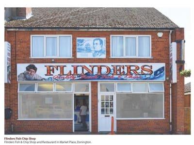 Flinders Fish Shop, Donington Market Place