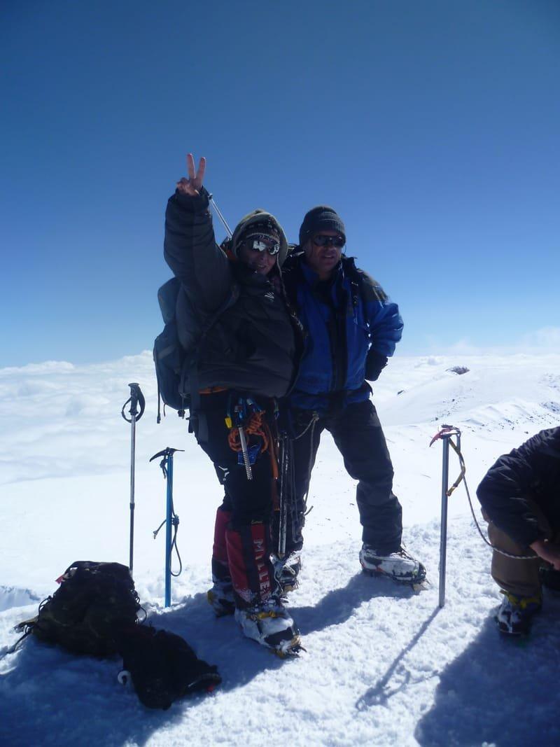 Эльбрус, зима 5642- 2011