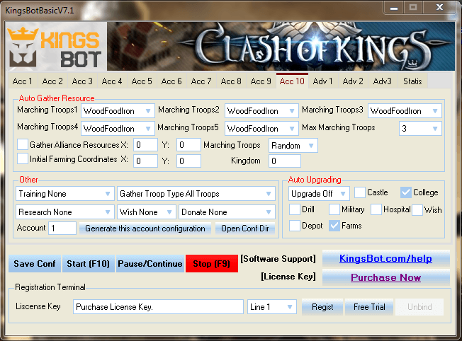 Not known Facts About clash of kings bot android