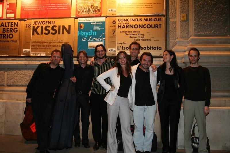 Après notre concert au Musik Verein à Vienne