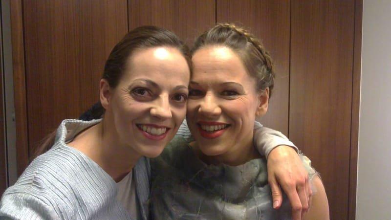 Avec la magnifique soprano Anne-Marie Kremer