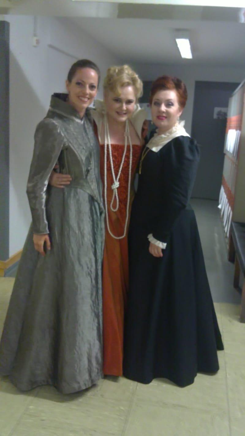 Avec la soprano Inga Kalna et la mezzo Michelle Breedt