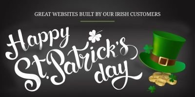 SITE123 Around The World - Celebrates Saint Patrick's Day