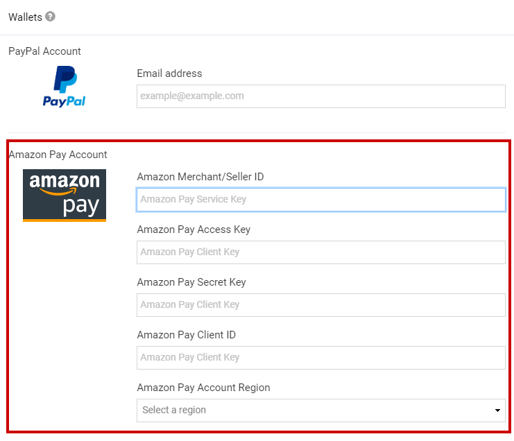 How to use Amazon Pay | Support Center - SITE123