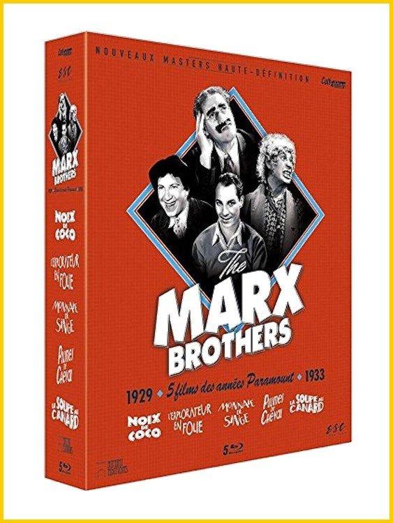 5 Films Marx Brothers