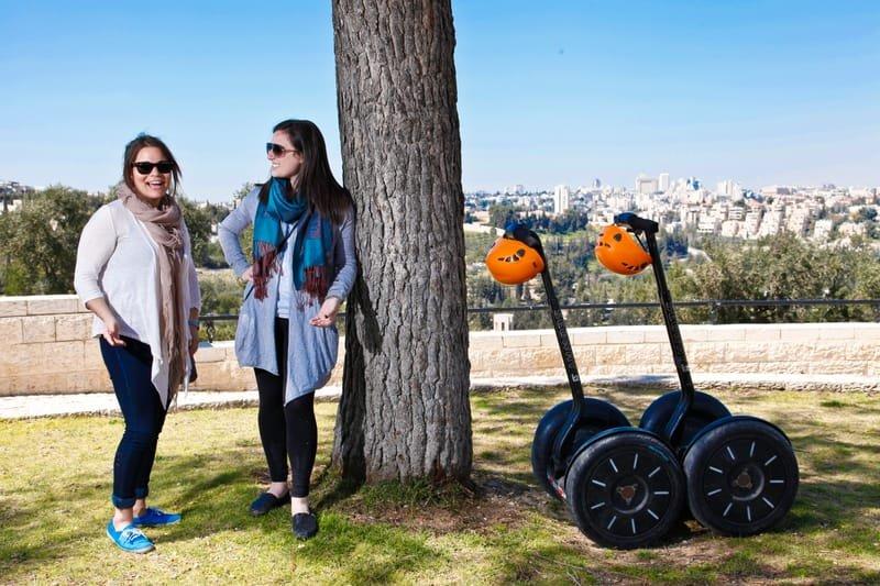 Segway tour in the Armon Hanatziv promenade