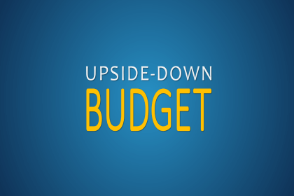 Upside-Down Budgeting