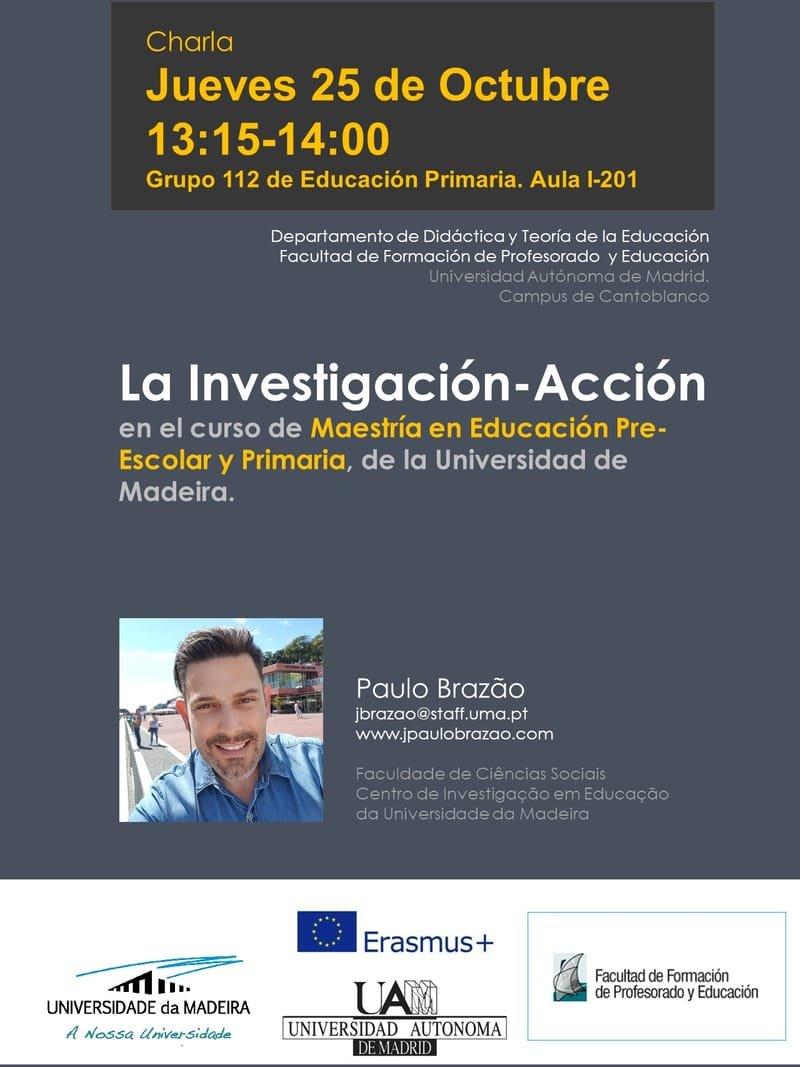 A Investigação-Ação no curso de Mestrado em Educação Pré-Escolar e Ensino do 1º Ciclo do Ensino Básico da Universidade da Madeira