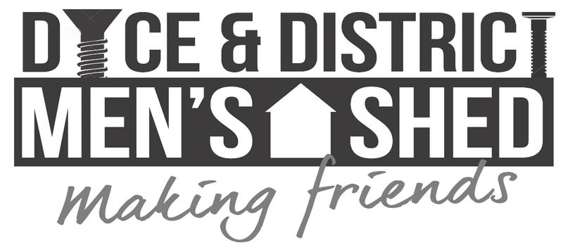 Dyce Men's Shed Logo