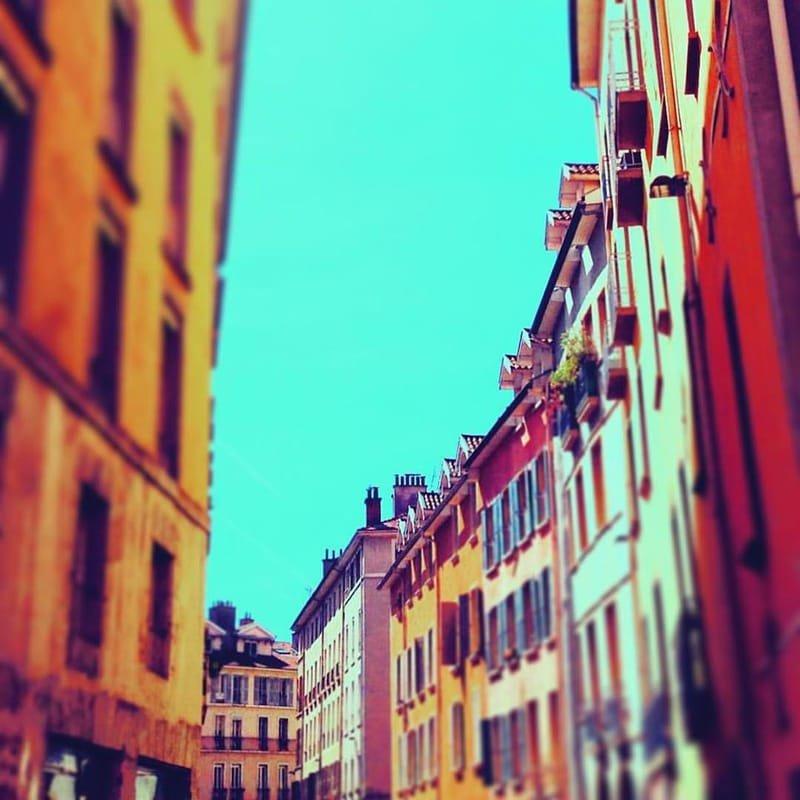 Grenoble en couleurs #21 rue Servant