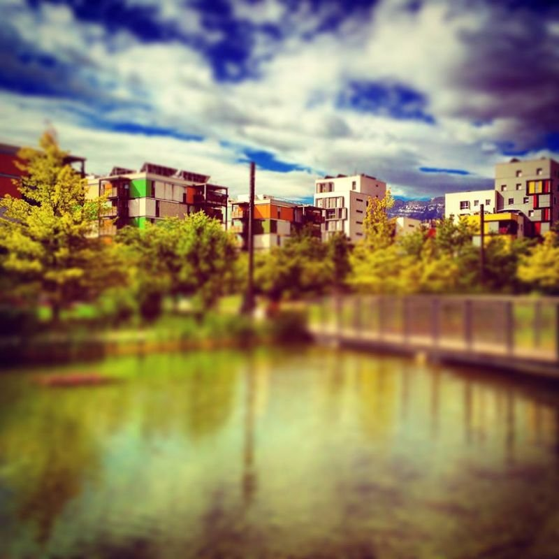 Grenoble en couleurs #10 éco quartier de Bonne