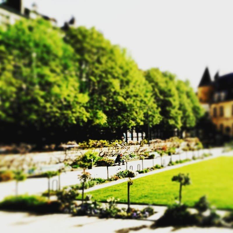 Grenoble en couleurs #8 jardin de ville