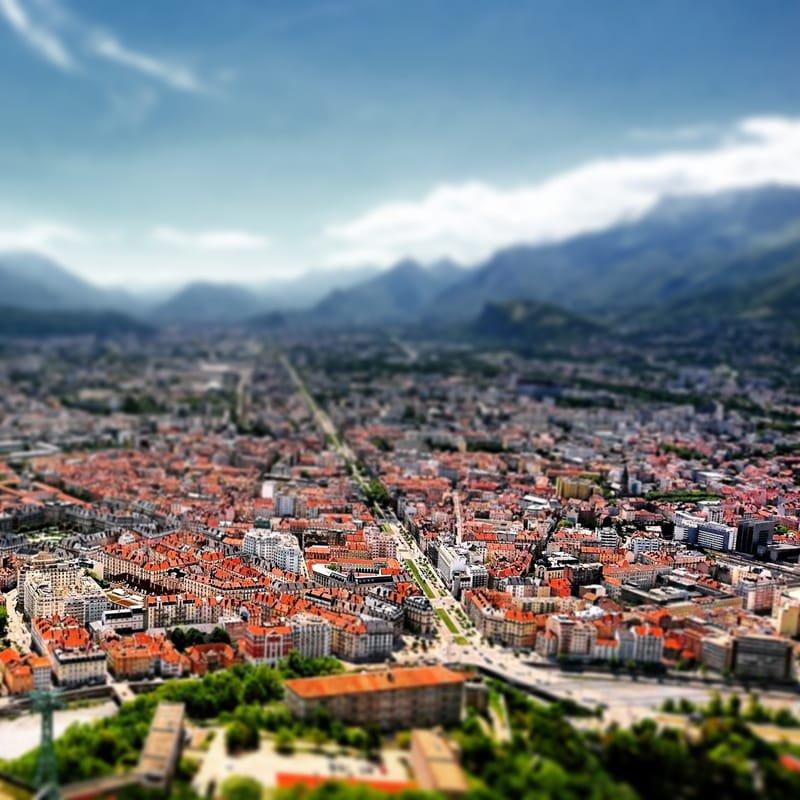 Grenoble en couleurs #4 coeur de ville historique