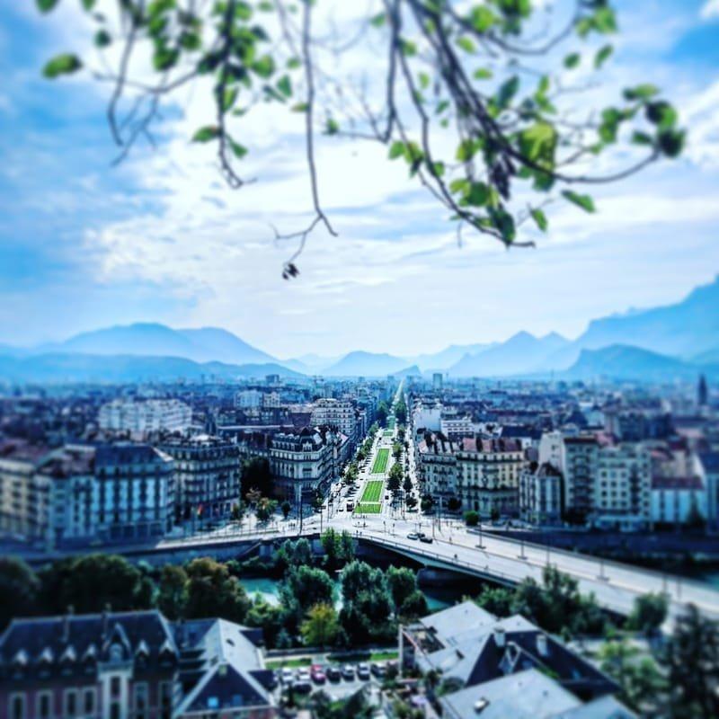 Grenoble en couleurs #29 cours Jean Jaurès