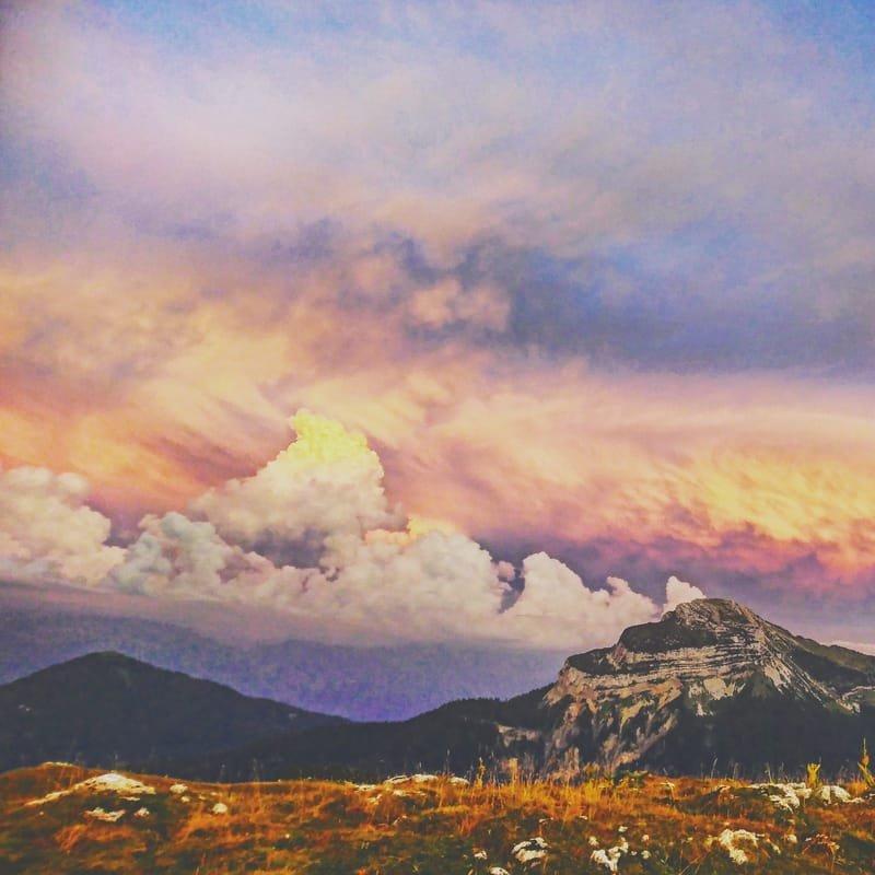 écrin naturel #15 ciel d'été au Charmant Som / Chartreuse