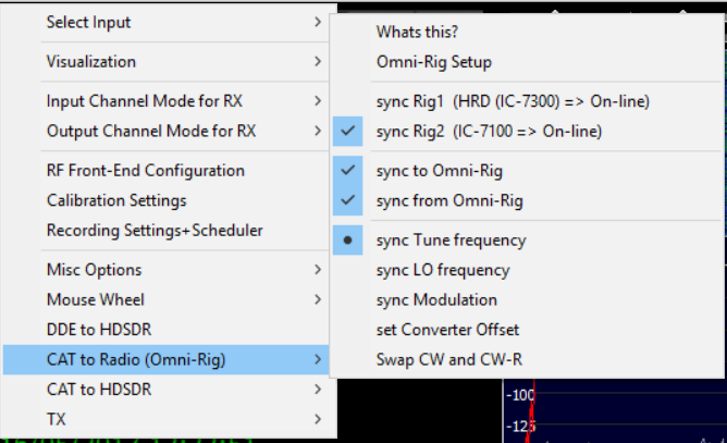 Configuring HDSDR for Panadapter use with RSP2 - G6GEI