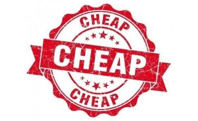Everything is cheap
