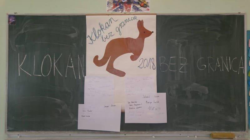 """Međunarodno matematičko natjecanje """"Klokan bez granica"""" 2018."""