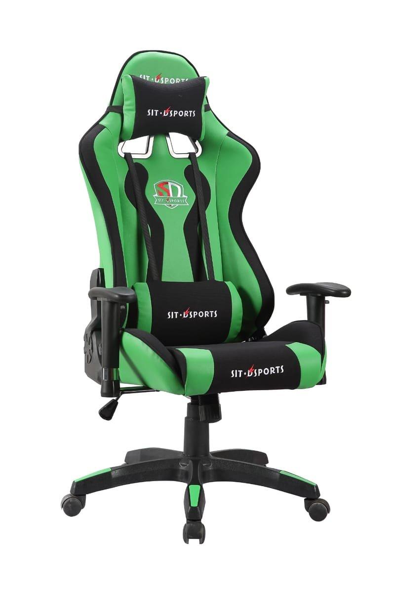 כסא גיימרים דגם פרימיום ירוק