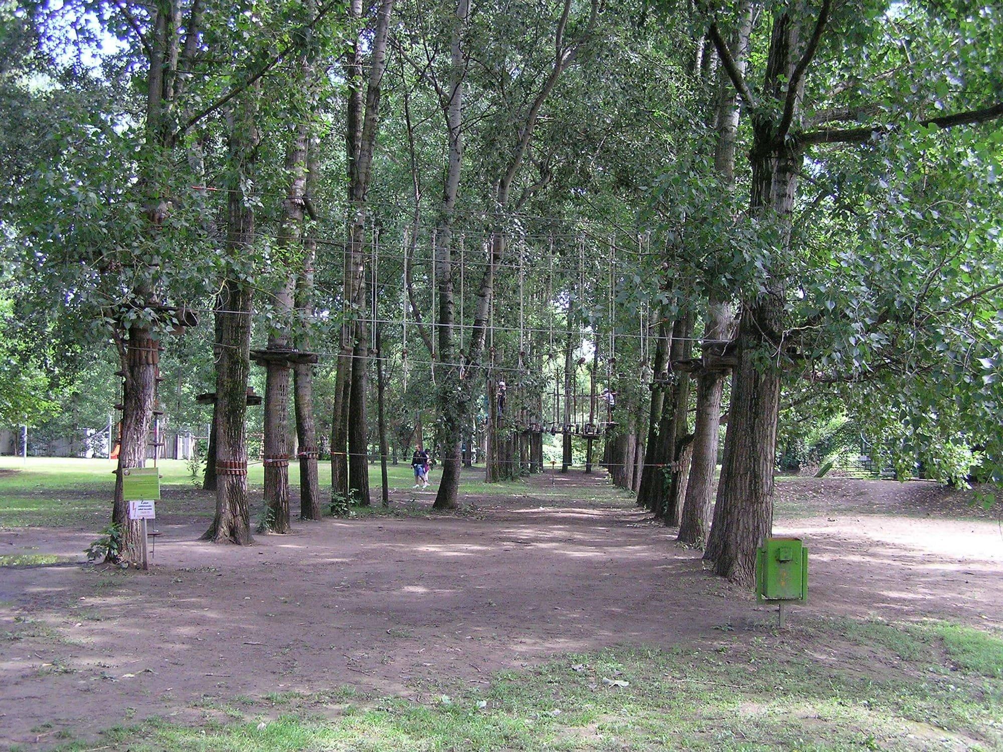 parcul de aventuri Mures Mako