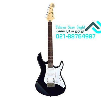 ساخت گیتار الکترونیک با کناف