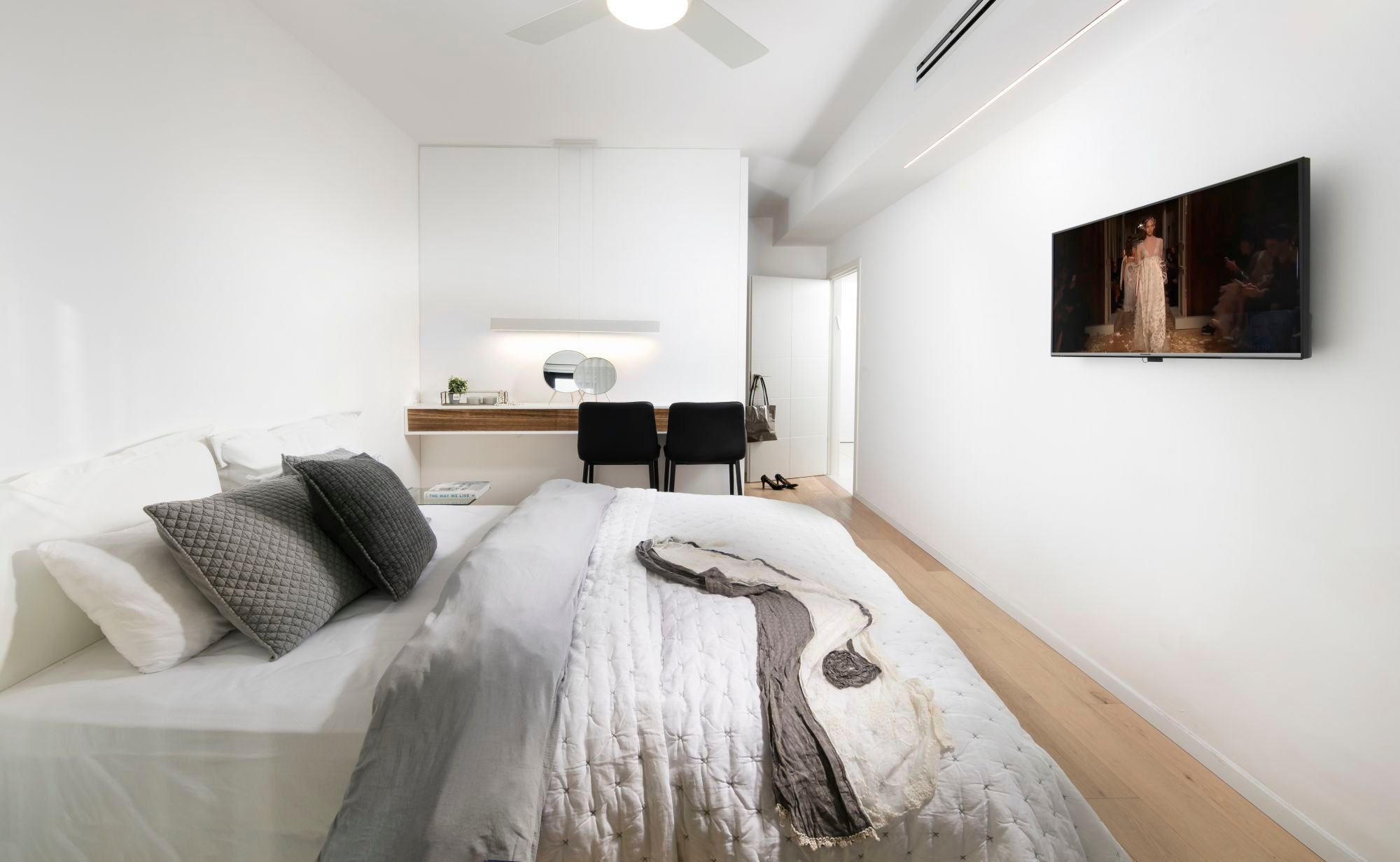 timeless design master bedroom