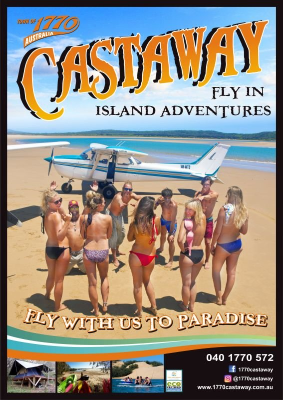 Poster - Castaway Tours 1770