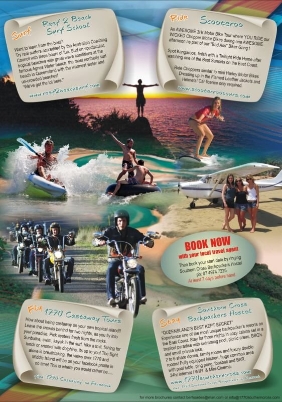 A4 Flyer (back) - Surf Ride Fly 1770