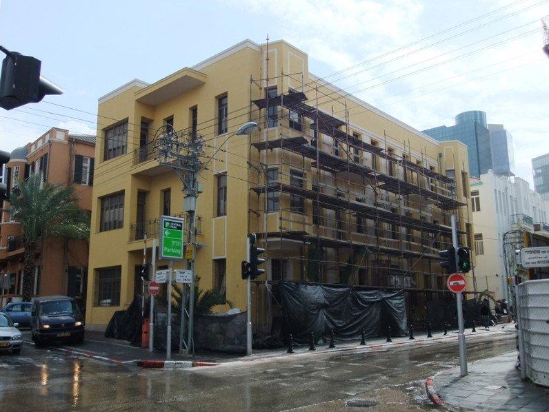 שימור מבנים - יבנה 14 תל אביב