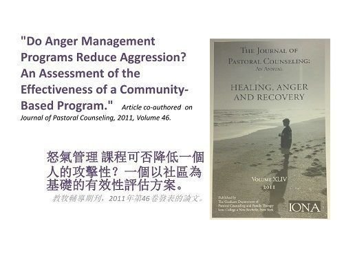 Do Anger Management Programs Reduce Aggression?