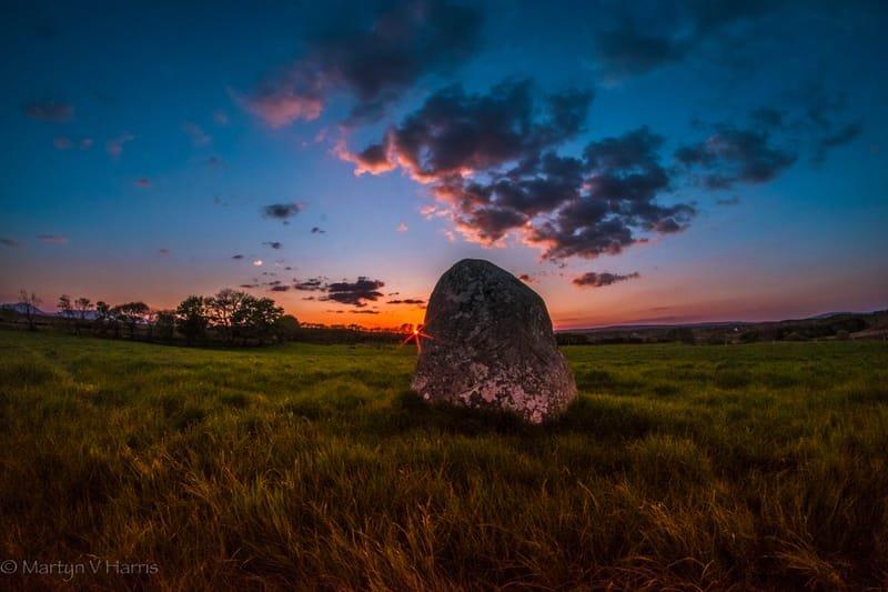 Standing stone at Gortnahurra