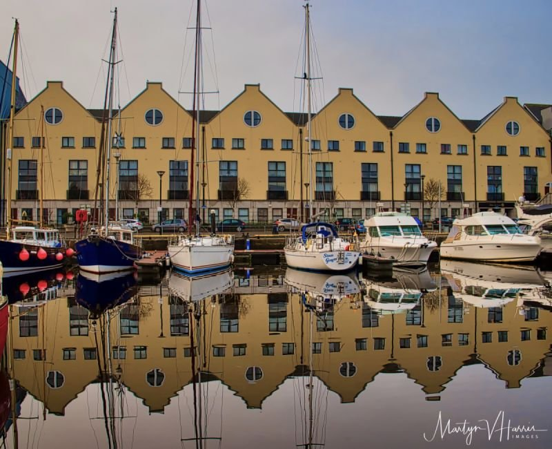 A still morning in Galway marina