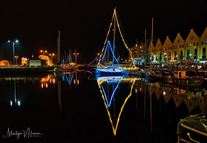 New Year 2018 Galway marina