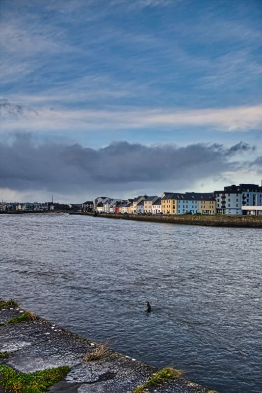 The Long Walk & Claddagh Quay, Galway