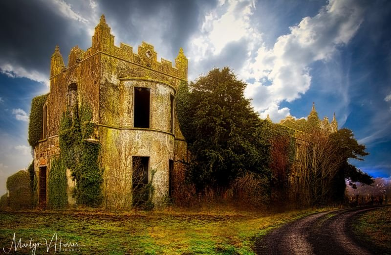 The remains of Ardfry House, Oranmore, Galway