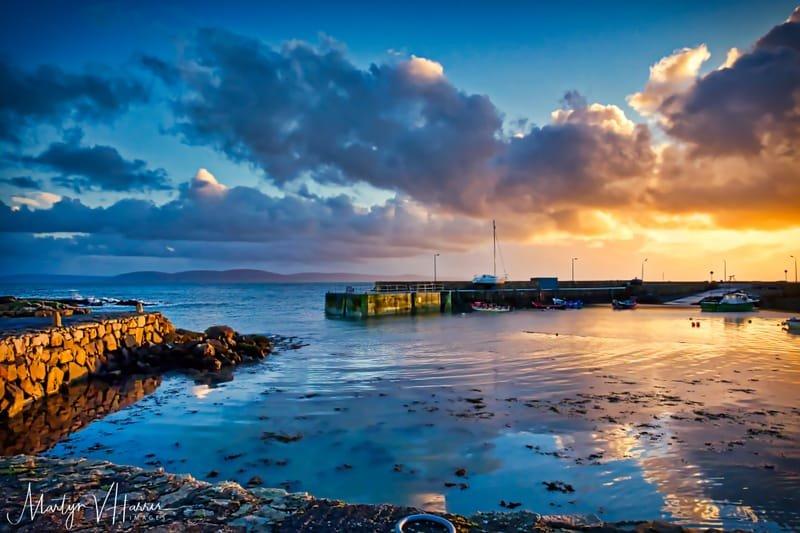 Spiddal Pier, Galway Bay