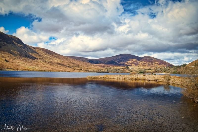 Lough Talt in the Ox Mountains