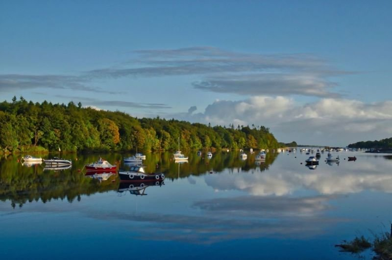 The River Moy at Ballina Quay