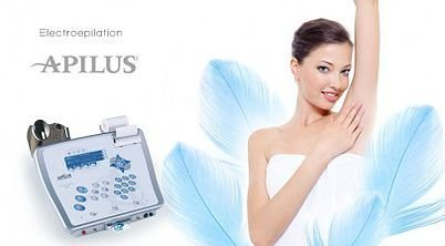 Apilus Platinum Pure 27mHz Electrolysis (100% permanent hair removal)